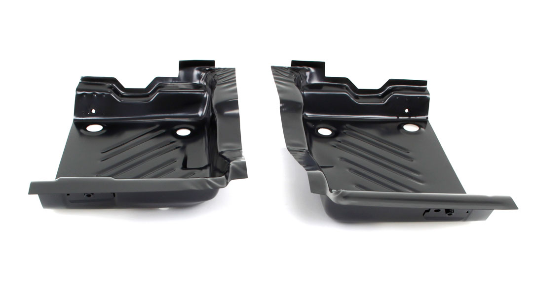 Rear Footwell Area Floor Pans - Pair - 70 Challenger