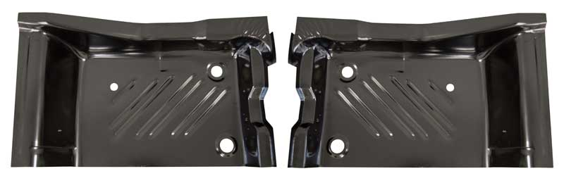 Rear Footwell Area Floor Pans - Pair - 71-74 Challenger