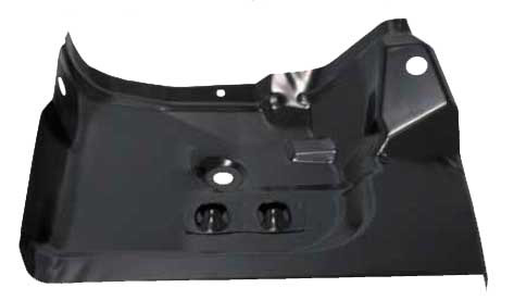 Under Rear Seat Floor Panel - LH - 70-81 Camaro Firebird