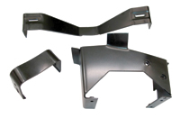 Console Bracket Set - Automatic Trans - 67-76 Dodge Plymouth A-Body