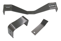 Console Bracket Set - Manual Trans - 67-76 Dodge Plymouth A-Body