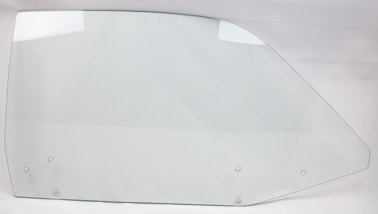 70-72 Duster/Demon Door Glass Right Clear (6 Hole)