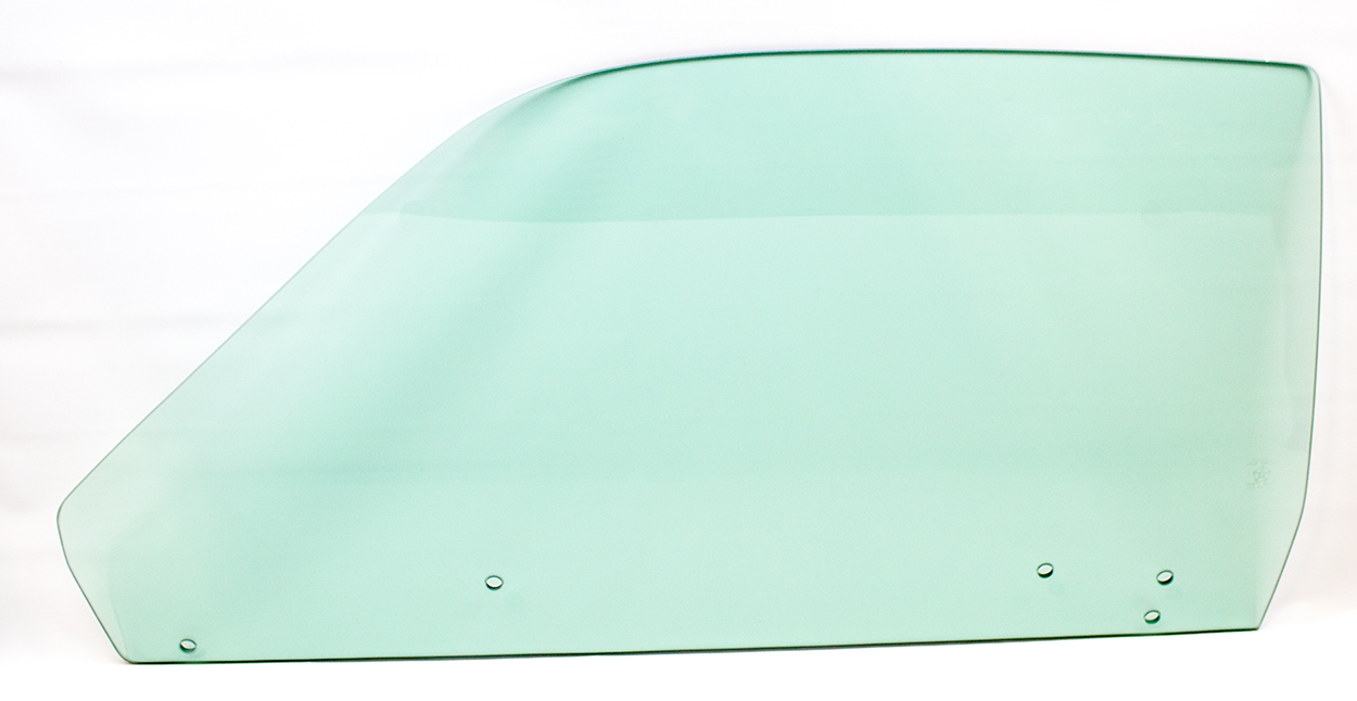 73-74 Duster/Dart Sport Door Glass Left Tinted (5 Hole)