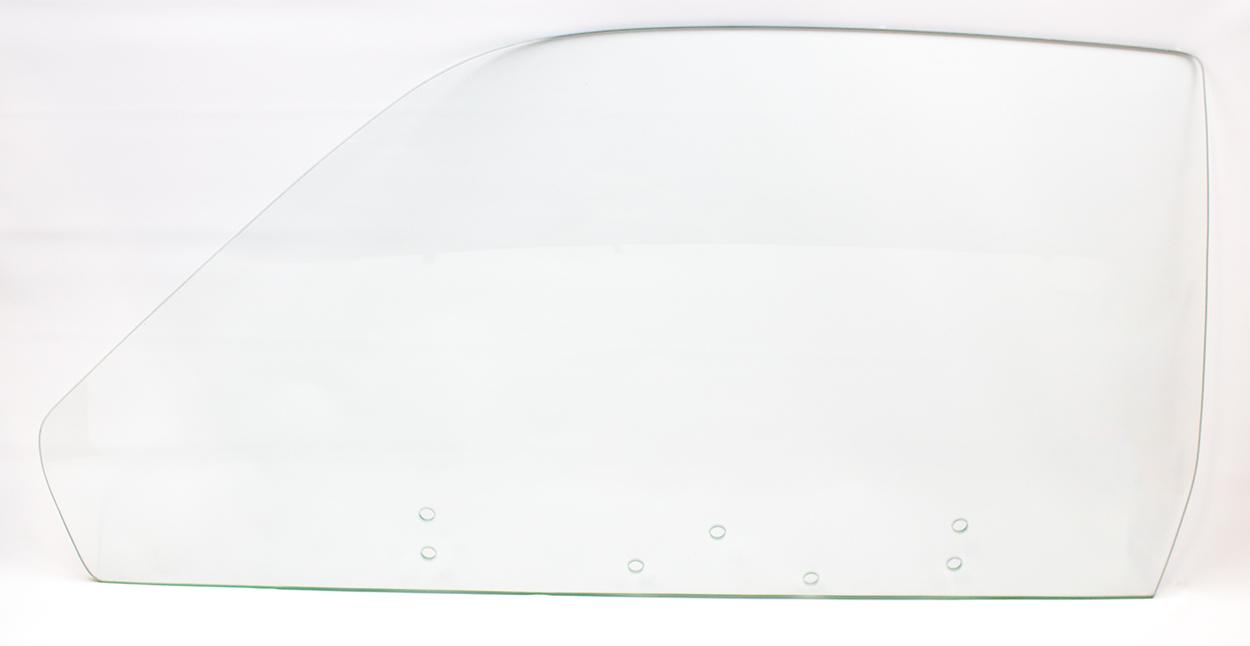 74-76 Duster/Dart Sport Door Glass Left Clear (7 Hole)