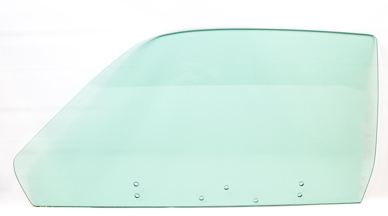 74-76 Plymouth Duster/Dart Sport Door Glass Left Hand Tint (7 Holes)