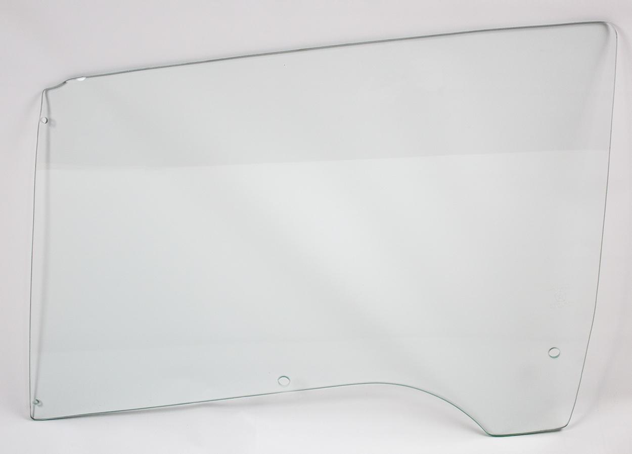 68-70 B-Body Door Glass Left Hand Clear - Sedan