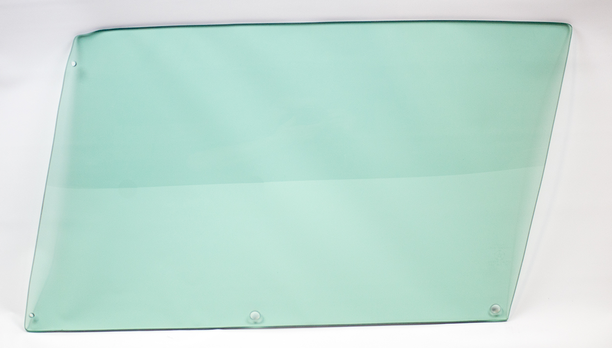 Door Glass - Green Tint - LH - 68-70 B-Body 2DR Hardtop