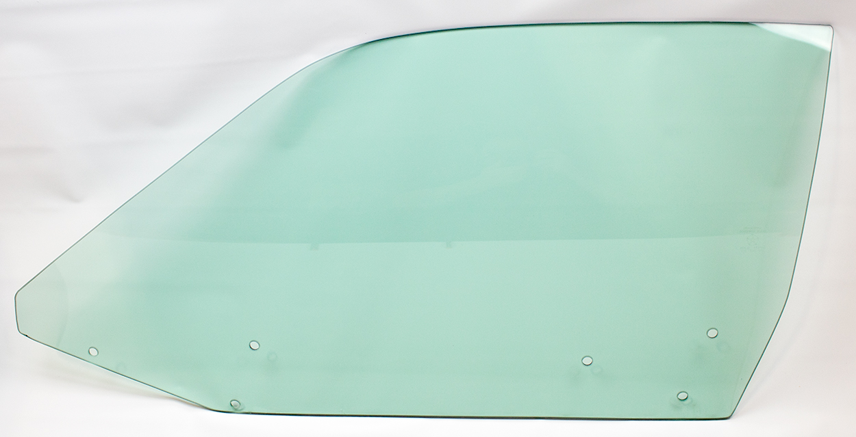 71-74 B-Body Door Glass Left Hand Tinted - Hardtop
