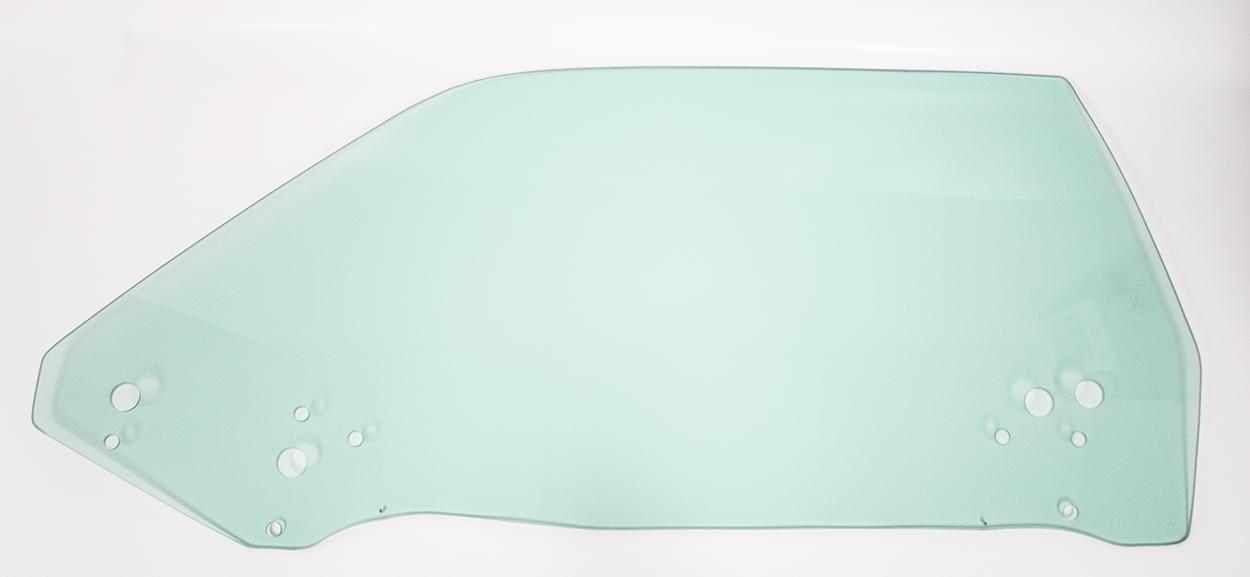 70-74 E-body Door Glass Left Hand Tinted - Hardtop