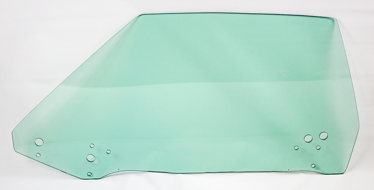 70-71 E-body Door Glass Left Hand Tinted - Convertible