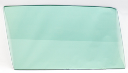 Door Glass - Green Tint - RH - 68-72 Chevy II Nova 2DR; 71-72 Ventura 2DR