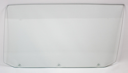 65 GM A-Body Coupe (3 Hole) Door Glass - LH (Clear)