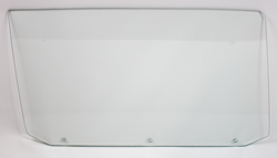 65 GM A-Body Coupe (3 Hole) Door Glass - RH (Clear)