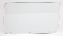 65 GM A-Body Convertible (3 Hole) Door Glass - LH (Clear)