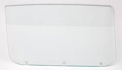 65 GM A-Body Convertible (3 Hole) Door Glass - RH (Clear)