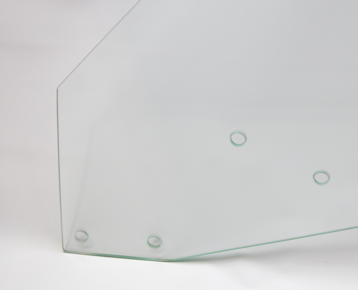 Door Glass - Clear - LH - 69 GM A-Body Coupe & Convertible; 69-70 Grand Prix