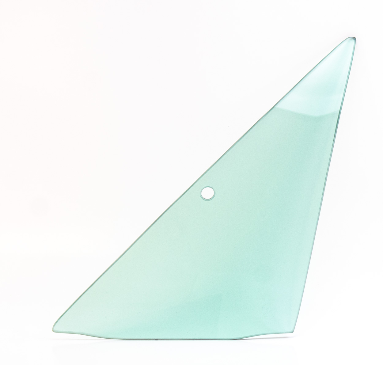Vent Glass - Green Tint - LH - 66-67 Dodge Plymouth B-Body 2DR Hardtop, Convertible, 2/4DR Sedan & Wagon