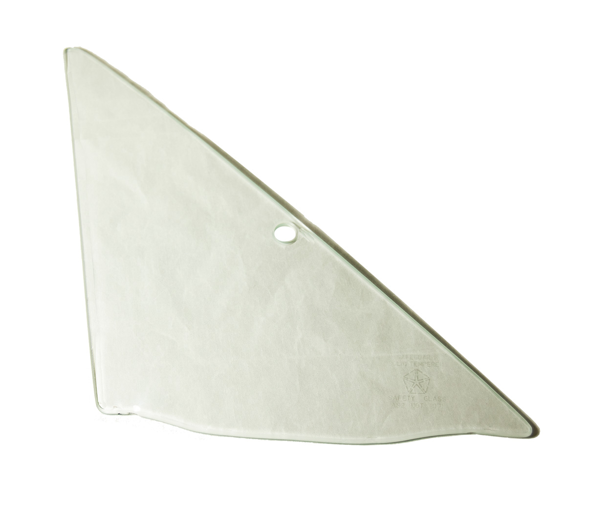 68-70 B-body Vent Glass Right Clear