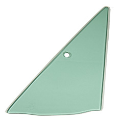 Vent Glass - Green Tint - LH - 68-72 Dart