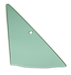 Vent Glass - Green Tint - RH - 68-72 Dart