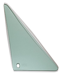 Vent Glass - Green Tint - RH - 67 Camaro Firebird