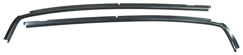 Roof Drip Rails - Pair - 70-72 Chevelle 2DR Coupe