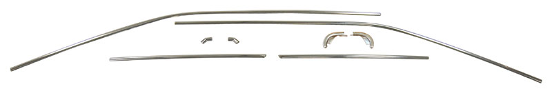 68-70 Dodge B Body Drip Rail Molding (8pc Set) for Cars