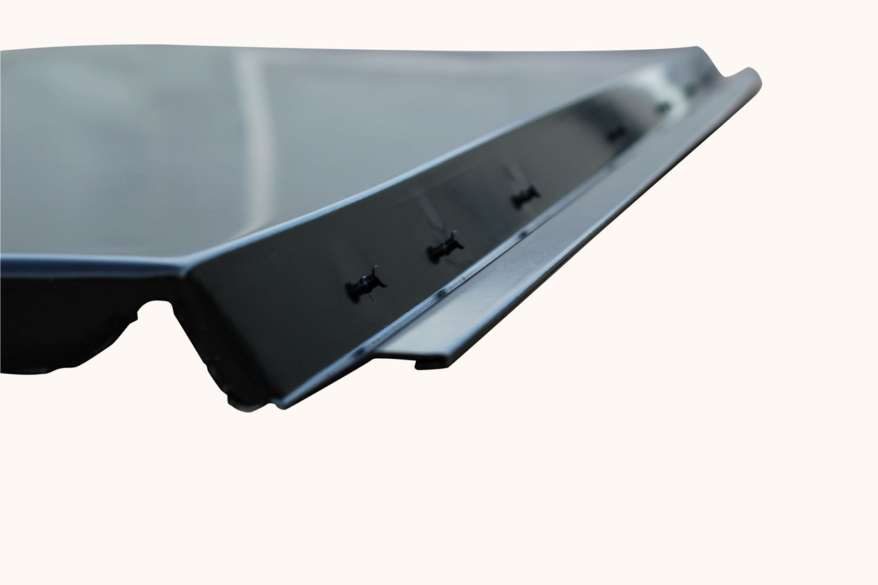 Deck Filler Panel - 66-67 Chevelle 2DR Coupe