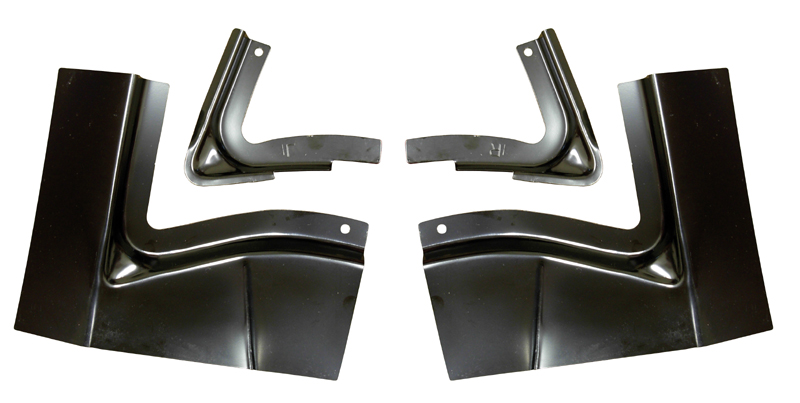 1968-1970 Mopar B Body Trunk Floor Brace Set AMD New