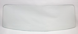 Back Glass - Clear - 66-67 Chevelle 2/4DR Sedan (Post)
