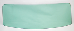 Back Glass - Green Tint - 66-67 Chevelle 2/4DR Sedan (Post)