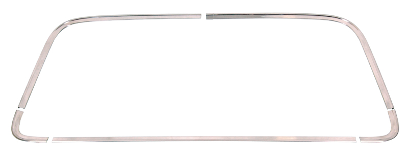 68-70 Dodge Charger Back Glass Molding Set