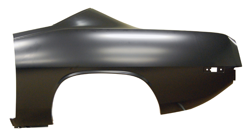 72-4 Plymouth Barracuda Quarter Panel - OE Style Left Hand