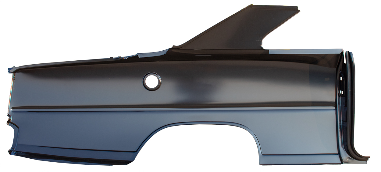 Quarter Panel - OE Style - LH - 66-67 Chevy II Nova Coupe