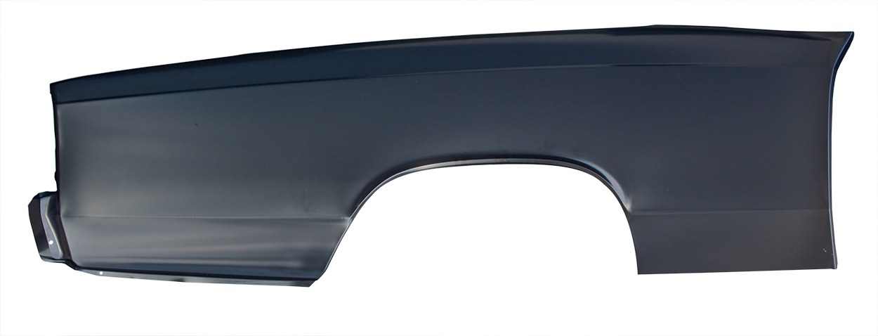 Quarter Panel Skin w/o Door Jamb - LH - 66-67 Chevelle