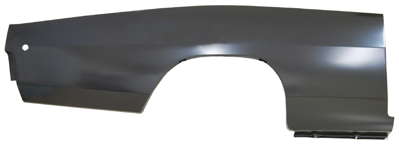 68 Charger Right Quarter Panel Skin