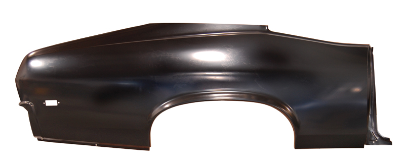 Quarter Panel Skin w/ Door Jamb - RH - 68-69 Chevy II Nova