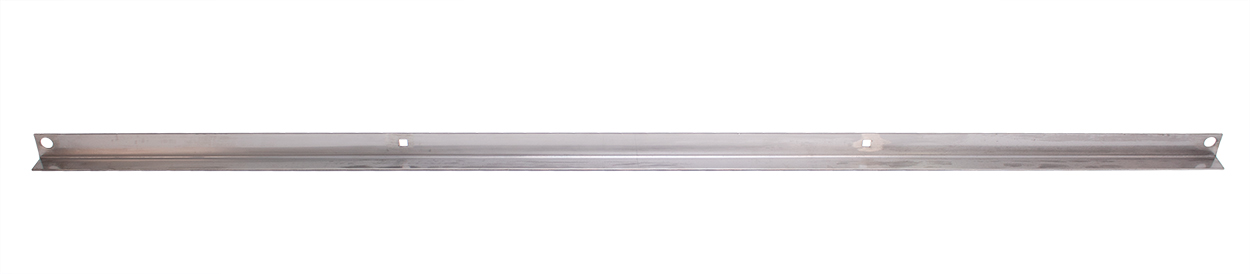 Bed Board End Cap - Polished Stainless - 51-52 F1 Short Bed Stepside; 53-72 F100 Short Bed Stepside