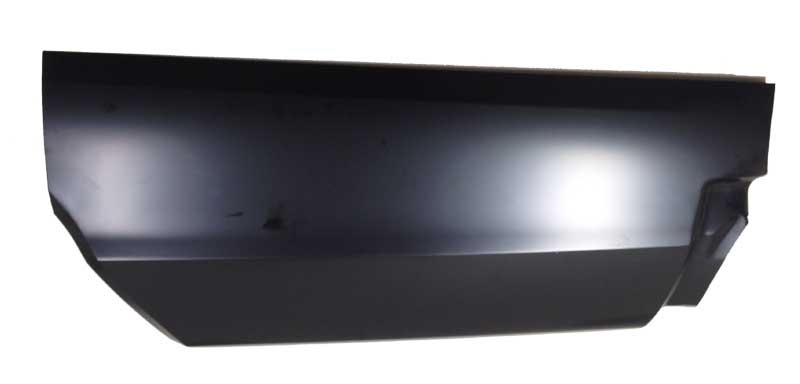 68-69 Coronet Quarter Panel Panel Lower Rear (without Marker Light Hole) LH