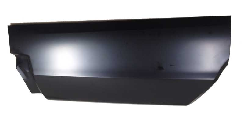 68-69 Coronet Quarter Panel Panel Lower Rear (without Marker Light Hole) RH