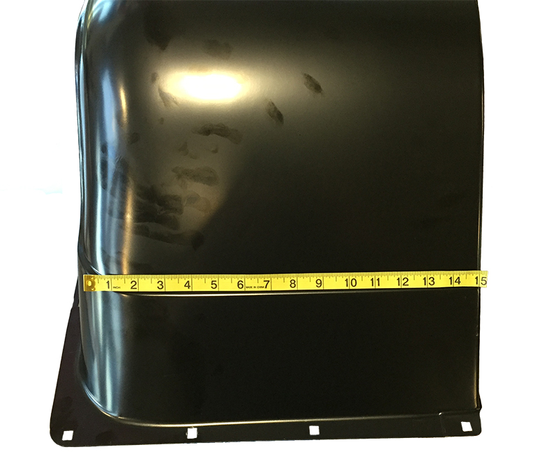"Bed Wheelhouse - 4"" Wider - LH/RH Pair - 67-72 Chevy GMC C/K Fleetside Pickup; 69-72 Blazer; 70-72 Jimmy"