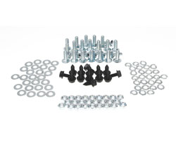 Wide Bed Wheelhouse Hardware Kit (118pcs) - 67-72 Chevy GMC C/K Fleetside Pickup; 69-72 Blazer; 70-72 Jimmy