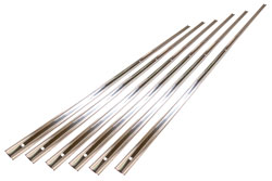 Bed Strip Set - 6pcs - Polished Stainless