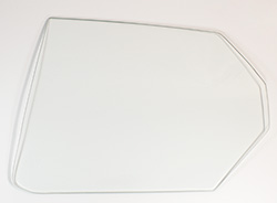 Quarter Glass - Clear - LH - 71 Plymouth B-Body 2DR Hardtop