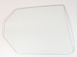 Quarter Glass - Clear - RH - 71 Plymouth B-Body 2DR Hardtop