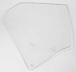 Quarter Glass - Clear - RH - 73-74 Plymouth B-Body 2DR Hardtop