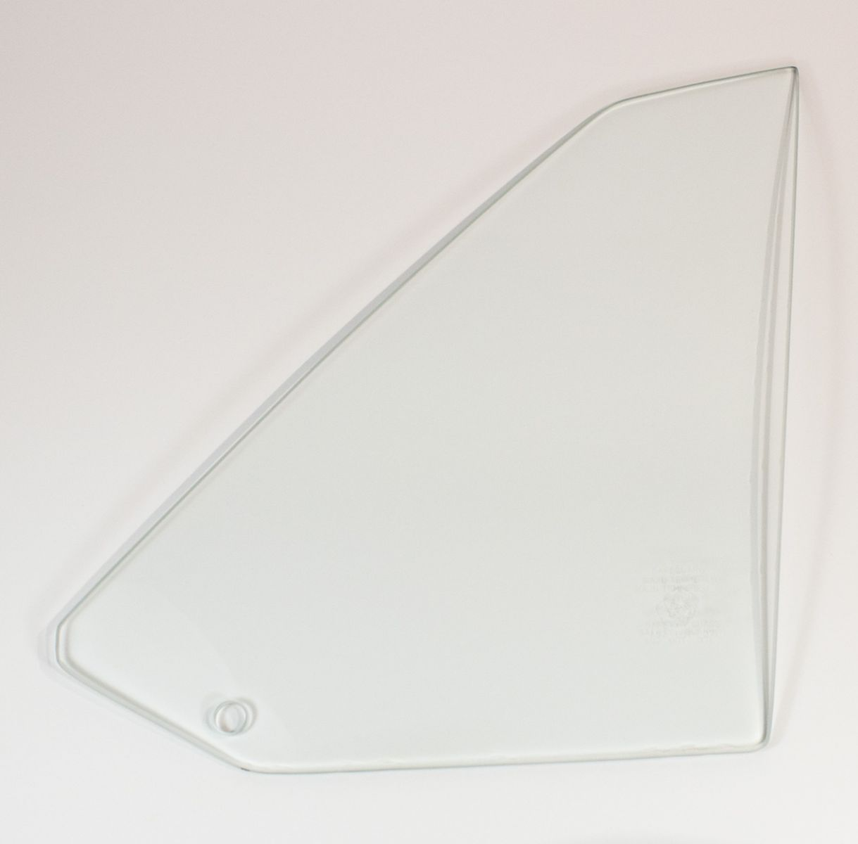 70-74 Plymouth Barracuda Quarter Glass Right Hand Clear - Hardtop