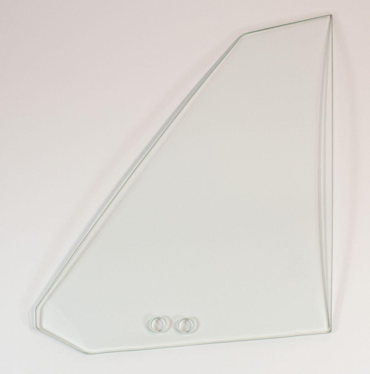 70-71 E-body Quarter Glass Left Hand Clear - Convertible