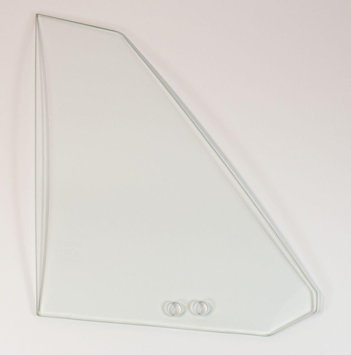 70-71 E-body Quarter Glass Right Hand Clear - Convertible