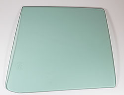 Quarter Glass - Green Tint - LH - 71 Charger